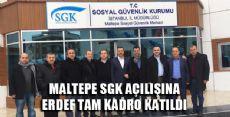 SGK Maltepe Şehit Erol Olçok Kampüsü Açıldı
