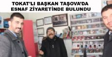 Tokat İl Başkanı Taşova'da