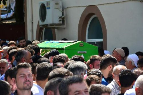 Samsun'da Boğulan Genç, Erbaa'da Toprağa Verildi