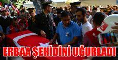 Şehit Uzman Çavuş Erkut'un Cenazesi Son Yolculuğuna Uğurlandı