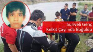 Serinlemek İsteyen Suriyeli Genç Boğularak Öldü
