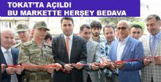 Sosyal Market Tokat'ta Açıldı