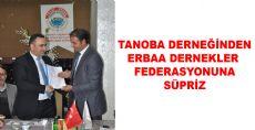 TANOBA DERNEĞİNDEN ERDEF'E SÜPRİZ