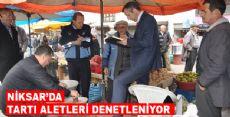 TARTI ALETLERİ DENETLENİYOR