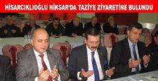 TOBB Başkanı Hisarcıklıoğlu, Niksar'da Taziye Ziyaretinde Bulundu