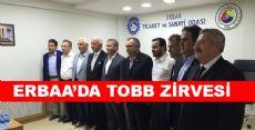 TOBB YÜKSEK DİSİPLİN KURULU ERBAA'DA TOPLANDI