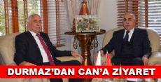 TOKAT CHP MİLLETVEKİLİ KADİM DURMAZ'DAN VALİ CEVDET CAN'A ZİYARET