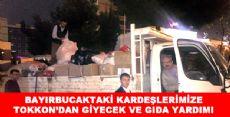 TOKKON'A BAĞLI FEDERASYONLARDAN  BAYIRCUCAK'A YARDIM ELİ