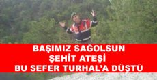 TOKAT ŞEHİDİNİ  BAĞRINA BASIYOR