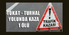 TOKAT TURHAL YOLUNDA KAZA