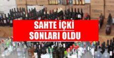 TOKAT'TA SAHTE İÇKİ SORUŞTURMASI