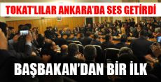 TOKKON'DAN ANKARA'DA SES GETİREN ZİYARET