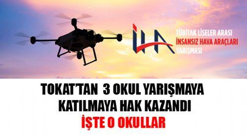 TÜBİTAK Liseler Arası İnsansız Hava Araçları Yarışmasına Katılmaya Hak Kazanan Okullar Açıklandı