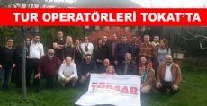 TÜRSAB TUR OPERATÖRLERİ TOKAT'I GEZİYOR