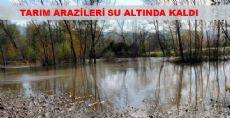 Tarım Araziler Su Altında Kaldı