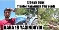 Taşova'da Traktör Devrildi: 1 Ölü, 3 Yaralı