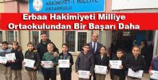 Tebrikler Hakimiyeti Milliye Ortaokulu Öğrencileri ve Öğretmenleri