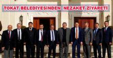 Tokat Belediye Başkanı Eroğlu, Konukoğlu'nu Ziyaret Etti