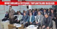 Tokat Bölgesel Muhtarlar Toplantısı
