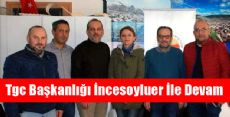 Tokat Gazeteciler Cemiyeti Genel Kurulunu Yaptı