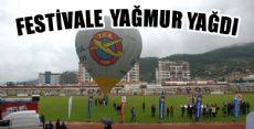 Tokat Havacılık Festivaline Yağmur Engeli