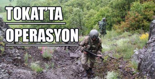 Tokat Jandarma Birliklerinden OPERASYON