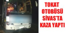 Tokat Otobüsü Sivas'ta Kaza Yaptı