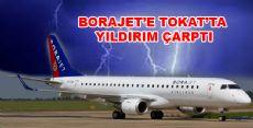 Tokat'a İnerken Yıldırım Çarptı