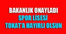 Tokat'a Spor Lisesi