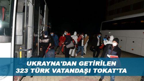 Tokat'a getirilen Türk vatandaşları, yurtlara yerleştirildi.