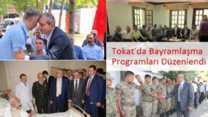 Tokat'da Bayramlaşma Programı Düzenlendi