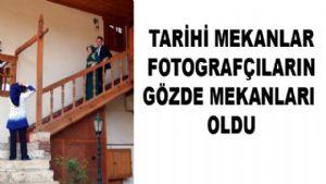 Tokat'ın Tarihi Mekanlarını Stüdyoya Çeviriyorlar