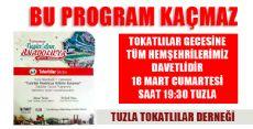 Tokat'lılar Tuzla'da Buluşuyor!