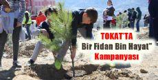 Tokat'ta Fidanlar Toprakla Buluştu