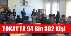Tokat'ta 94 Bin 302 Kişi Katıldı