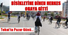 Tokat'ta Bisikletine Binen Gitti