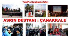 Tokat'ta Çanakkale Zaferi