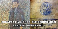 Tokat'ta Ele Geçirilen Van Gogh Tablosu