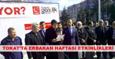 Tokat'ta Erbakan Haftası Etkinlikleri