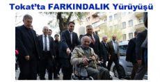 Tokat'ta Farkındalık Yürüyüşü
