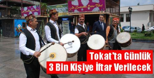 Tokat'ta Günlük 3 Bin Kişiye İftar Verilecek
