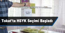 Tokat'ta HSYK Seçimi Başladı