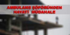 Tokat'ta İntihar Girişimi