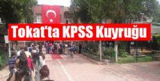 Tokat'ta KPSS Kuyruğu