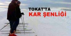 Tokat'ta Kar Şenliği