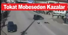 Tokat'ta Mobeselere Takılan Kazalar