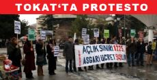 Tokat'ta Protesto
