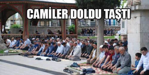Tokat'ta Şehitler İçin Dua