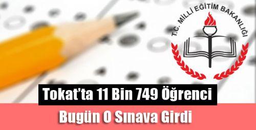 Tokat'ta Sınav Heyecanı