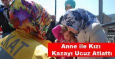 Tokat'ta Ucuz Atlatılan Bir Kaza